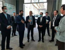 🔻بازدید وزیر تعاون، کار و رفاه اجتماعی از مرکز آموزش فنی و حرفه ای تاجیکستان