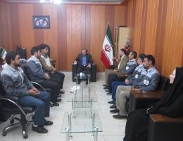 فرماندار شهرستان باخرز در دیدار با پرسنل مرکز آموزش فنی و حرفه ای به مناسبت هفته ملی مهارت :