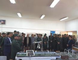 بازدید فرمانده ناحیه مقاومت بسیج سپاه کاشمر از مرکز آموزش فنی و حرفه ای شهرستان