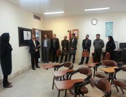بازدید مدیر مراکز رشد پارک علم و فناوری خراسان از مرکز آموزش فنی و حرفه ای مهارتهای پیشرفته ارم مشهد