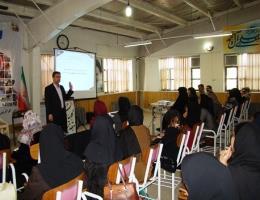 اجرای کارگاه آموزش تدوین کننده استاندارد آموزشی جهت مدیران و مربیان آموزشگاه های فنی و حرفه ای آزاد نیشابور