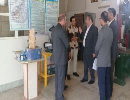بازدید مدیرکل آموزش فنی و حرفه ای خراسان رضوی از کارگاه های مرکز تربت حیدریه